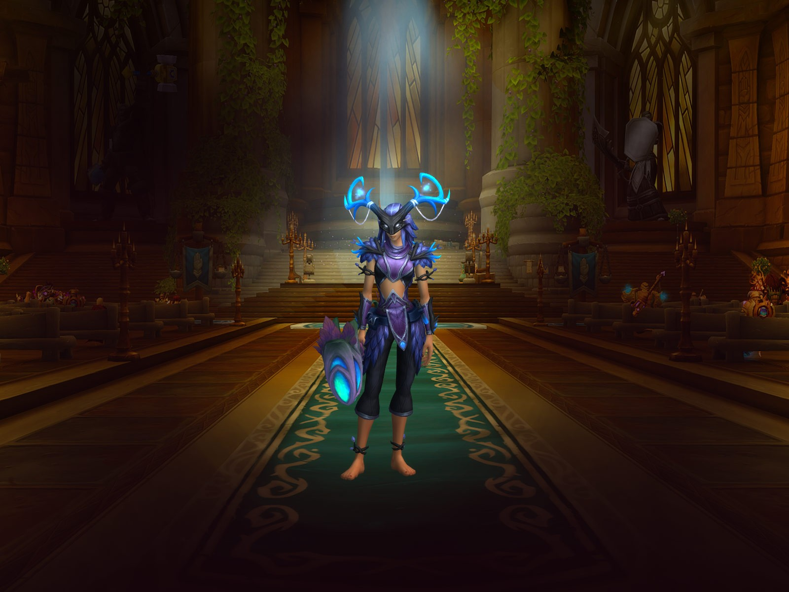 Why does Darkshore award 400-item level gear? - General Discussion