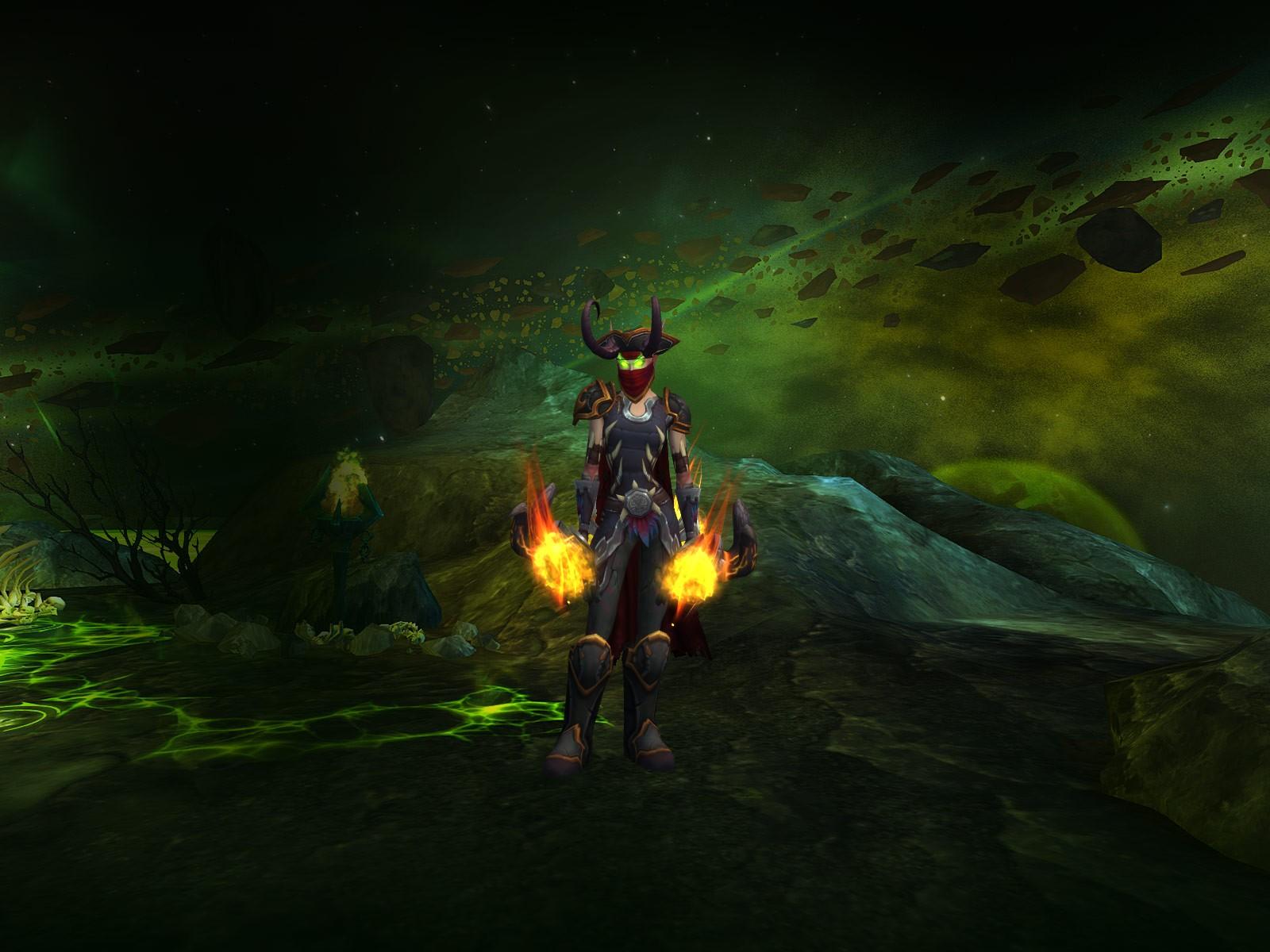 Эльф крови Охотник на демонов