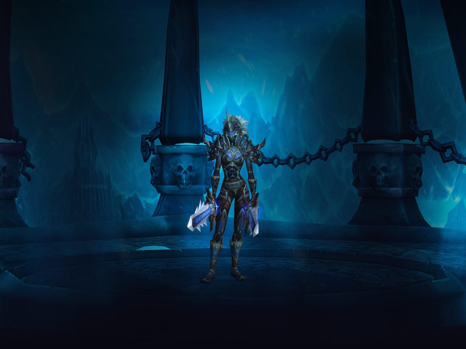Эльф крови Рыцарь смерти