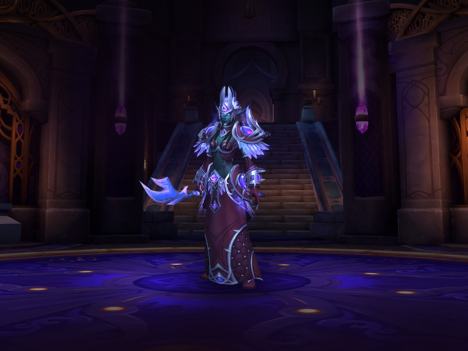Bow Transmog For Heritage Armor General Discussion World Of Warcraft Forums Dressing room link for void elf heritage armor set: blizzard forums