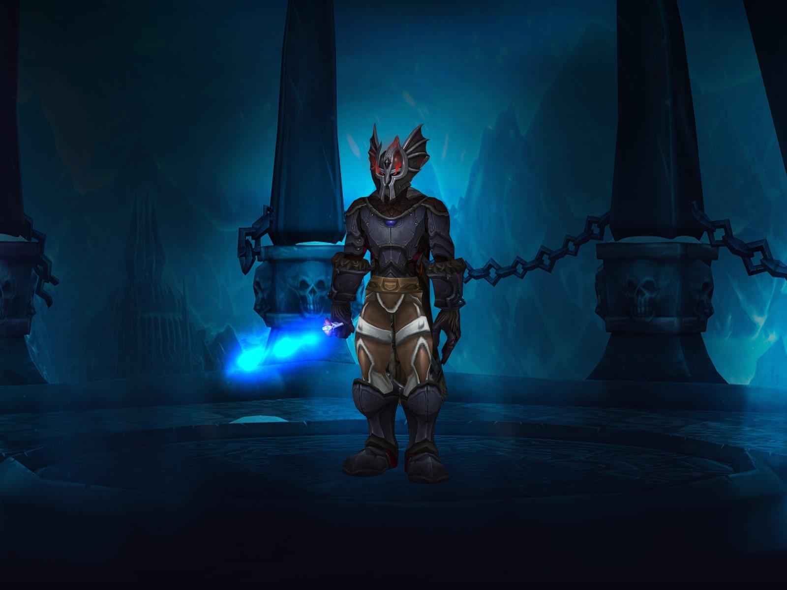 Lvl 59 twink death knight gear